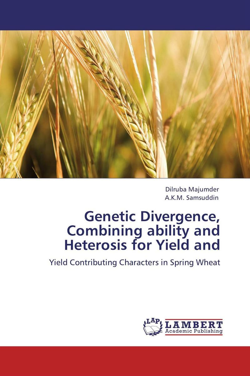 Genetic Divergence, Combining ability and Heterosis for Yield and mf2300 f2