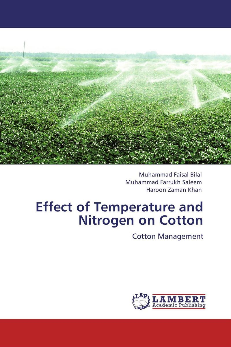 Effect of Temperature and Nitrogen on Cotton nitrogen oxides control technology fact book
