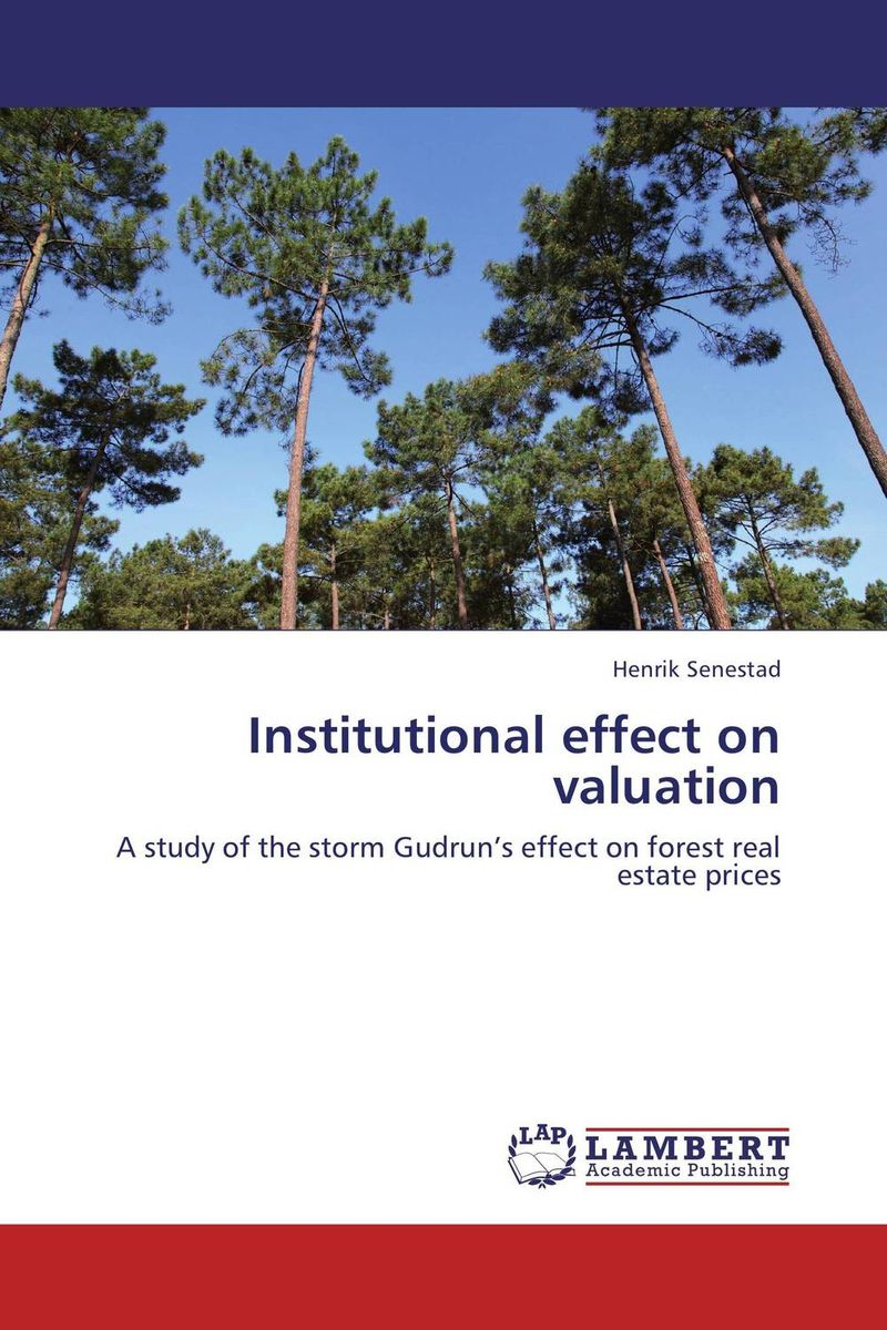 Institutional effect on valuation corporate real estate management in tanzania