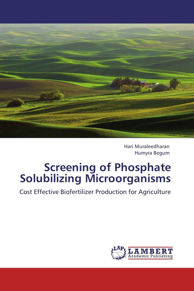 Screening of Phosphate Solubilizing Microorganisms plant mineral nutrition