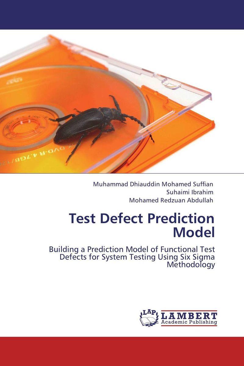 Test Defect Prediction Model lean six sigma for dummies