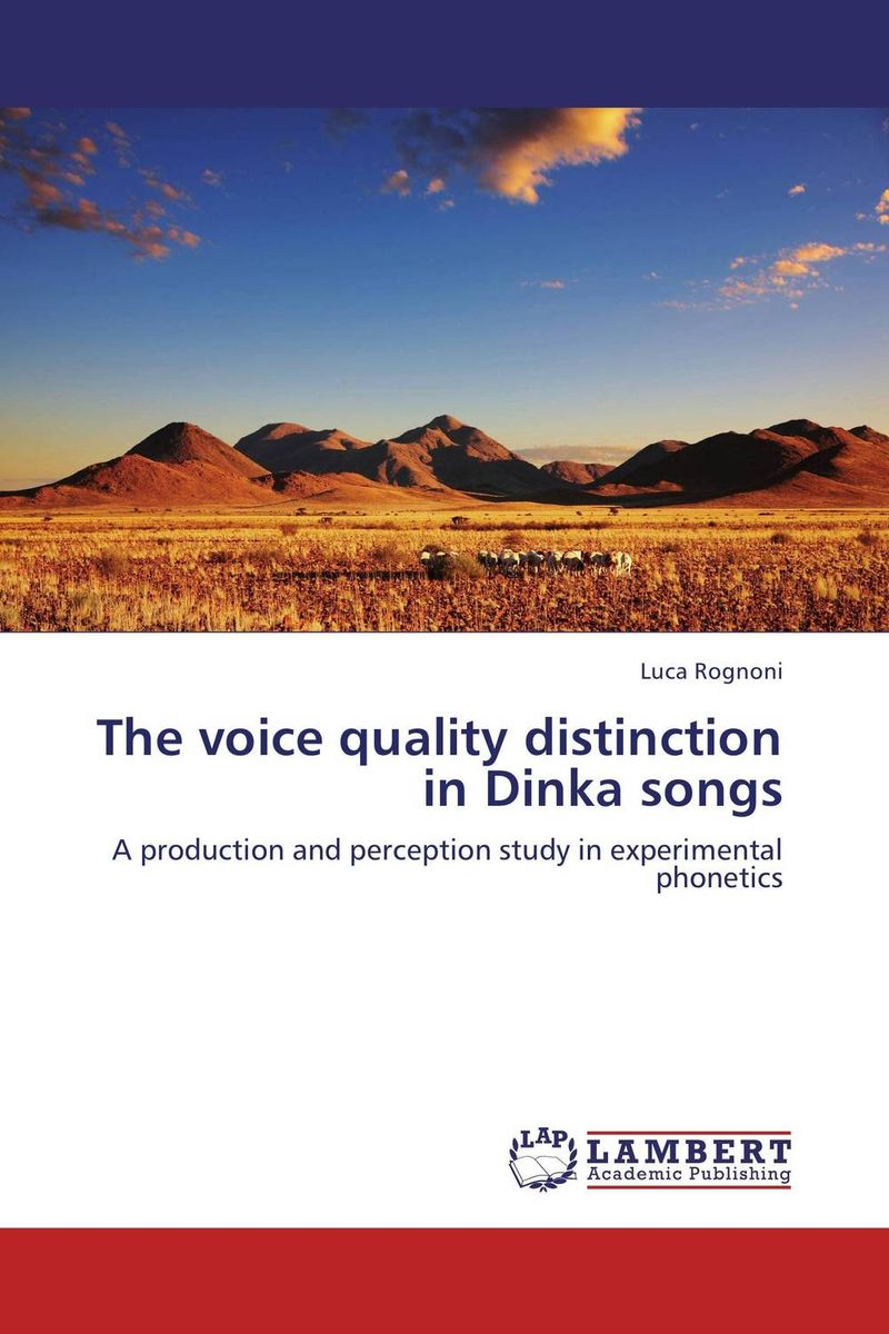 The voice quality distinction in Dinka songs speech quality estimation of voice over internet protocol page 2
