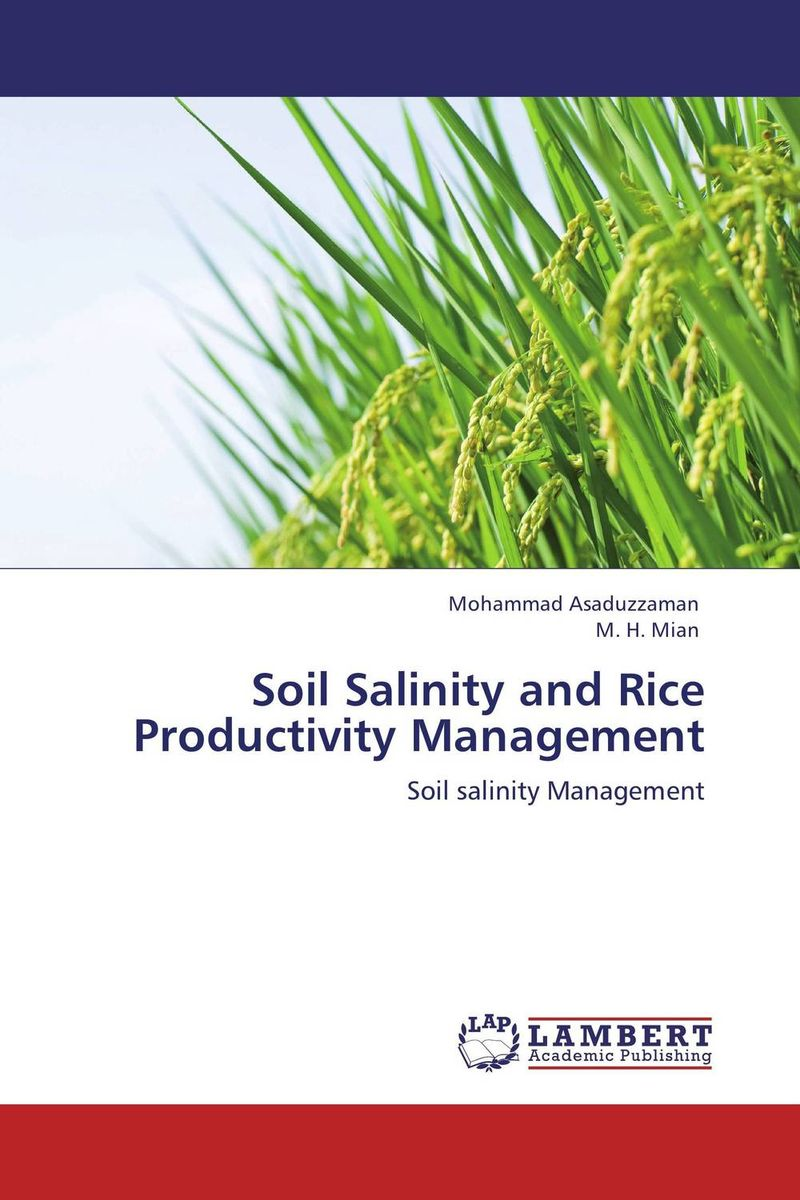 Soil Salinity and Rice Productivity Management belousov a security features of banknotes and other documents methods of authentication manual денежные билеты бланки ценных бумаг и документов