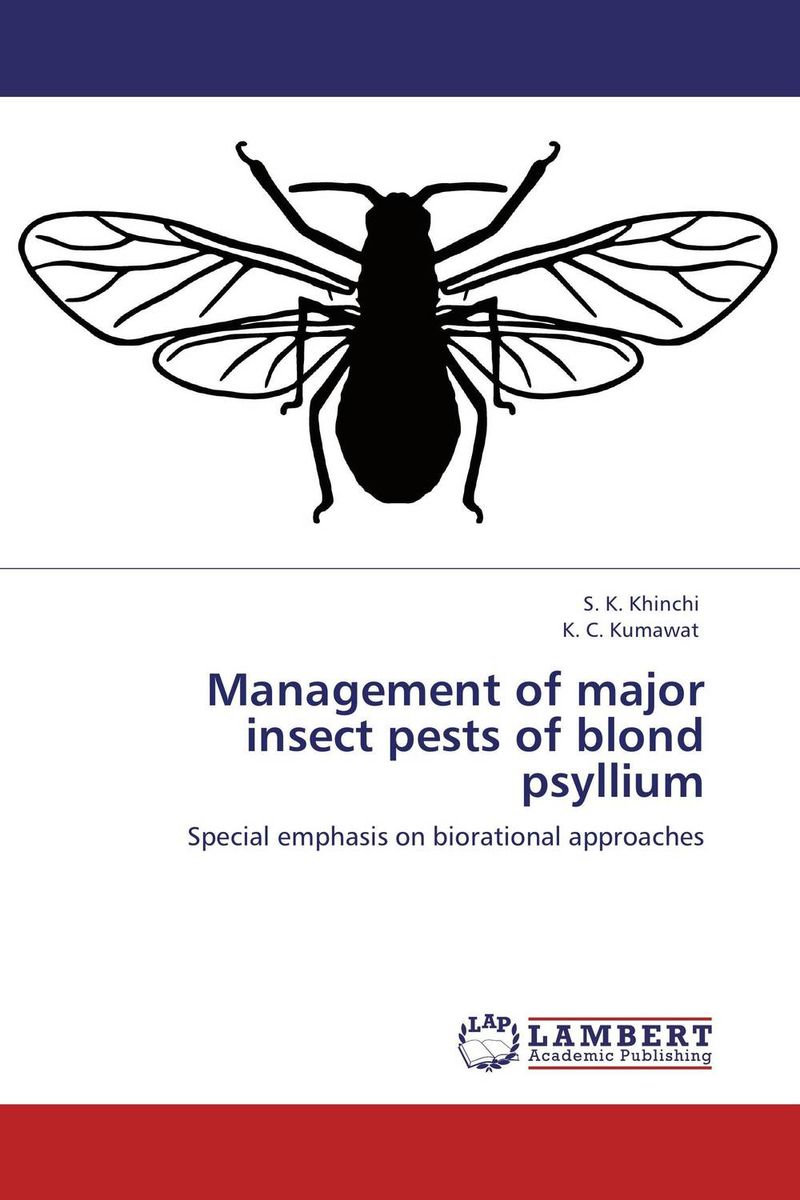 Management of major insect pests of blond psyllium found in brooklyn