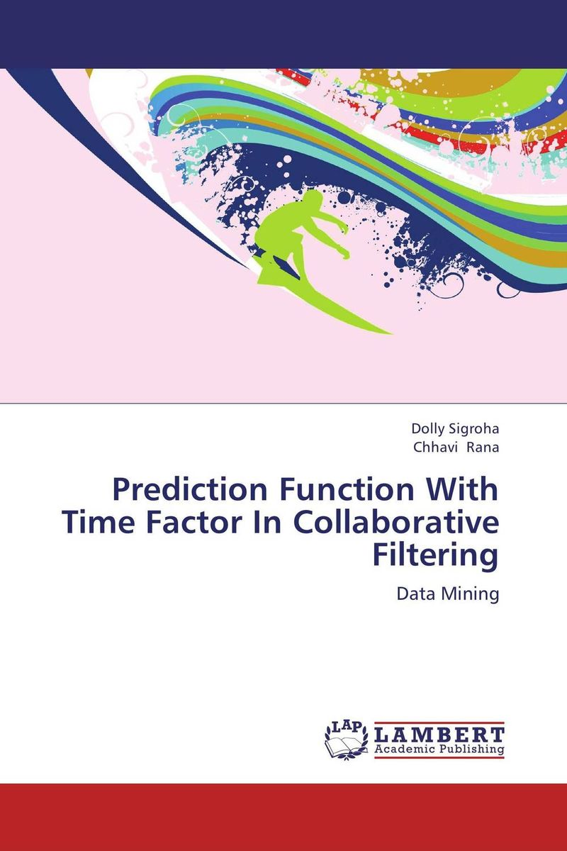 Prediction Function With Time Factor In Collaborative Filtering кальсоны user кальсоны