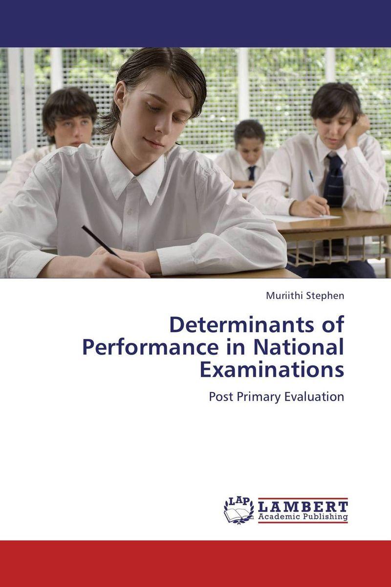 Determinants of Performance in National Examinations peace education at the national university of rwanda