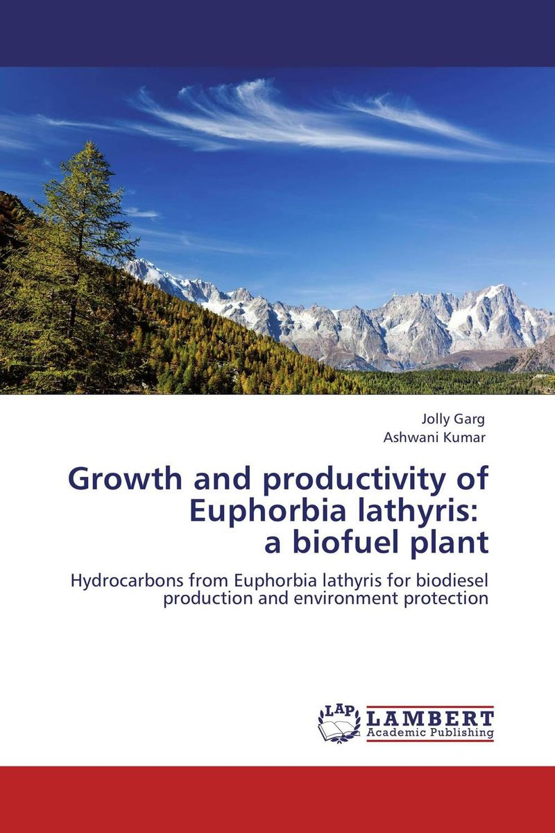 Growth and productivity of Euphorbia lathyris:   a biofuel plant sadat khattab usama abdul raouf and tsutomu kodaki bio ethanol for future from woody biomass