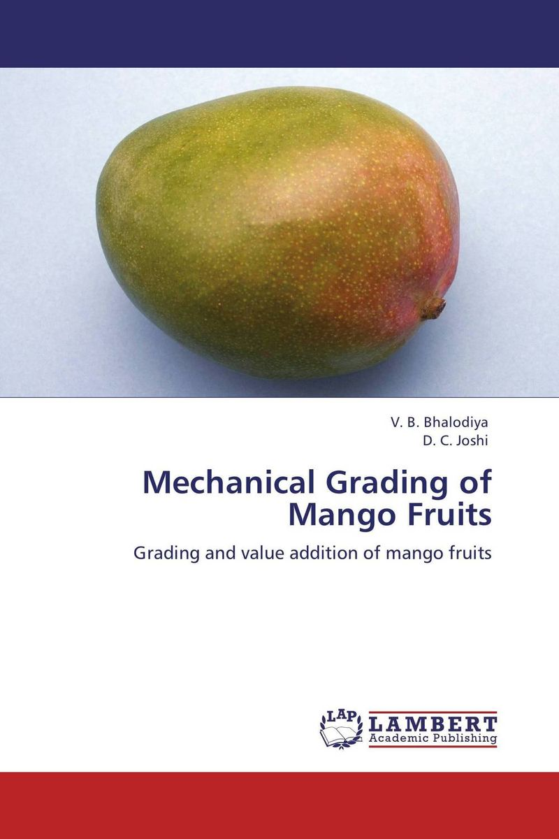 Mechanical Grading of Mango Fruits anatoly peresetsky do secrets come out statistical evaluation of student cheating