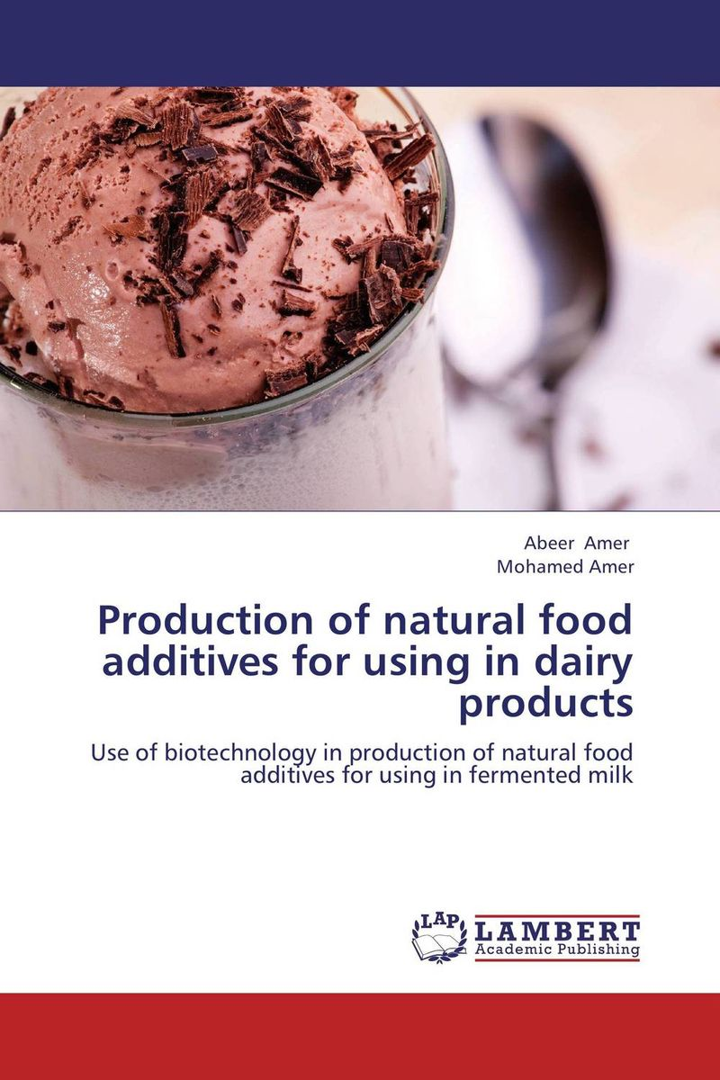 Production of natural food additives for using in dairy products lipase enzyme production using bacteria and its industrial application