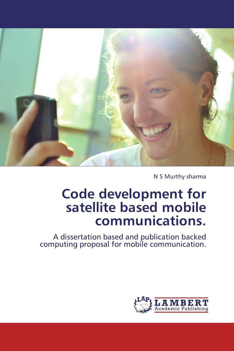 Code development for satellite based mobile communications.