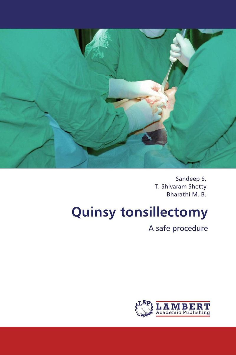 Quinsy tonsillectomy the pure abscess