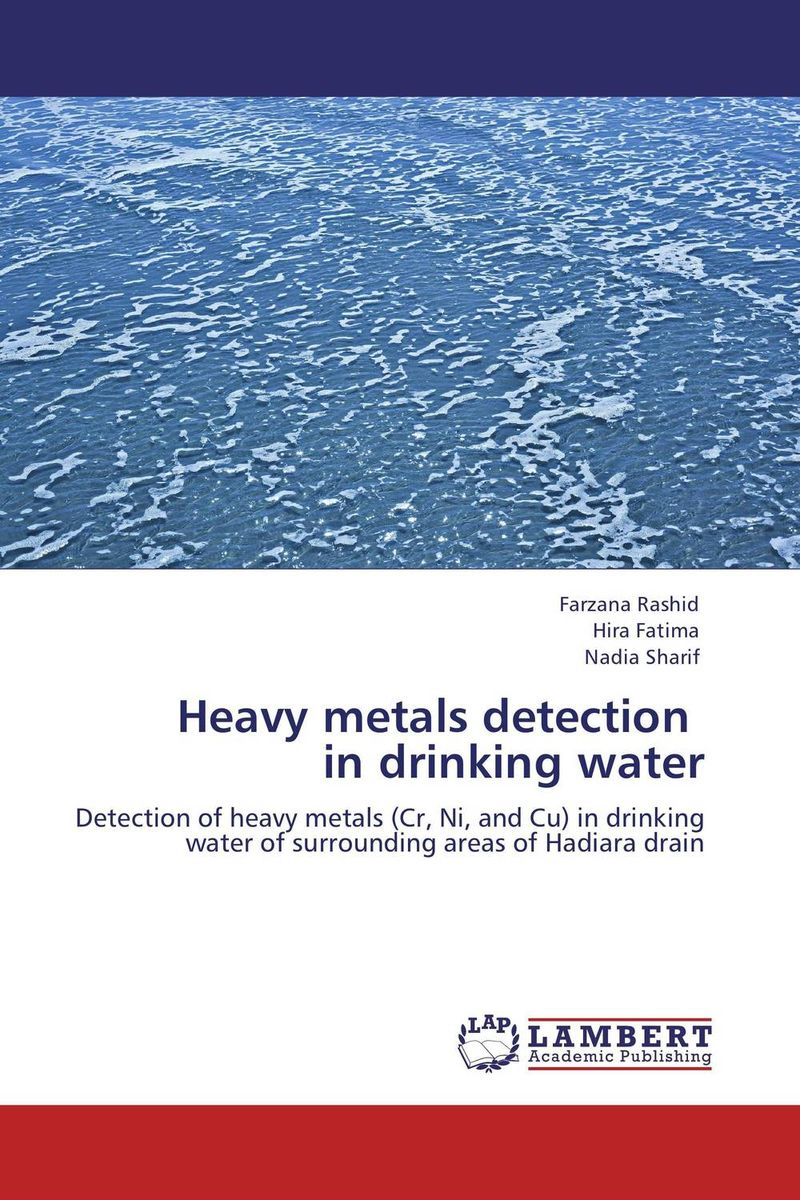 Heavy metals detection in drinking water heavy metals in drinking water of dairy buffaloes at peshawar