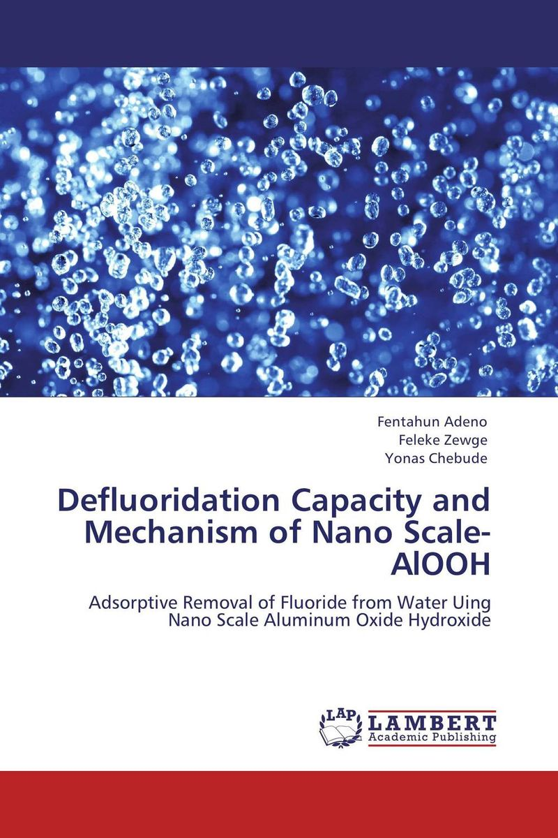 Defluoridation Capacity and Mechanism of Nano Scale-AlOOH the role of evaluation as a mechanism for advancing principal practice