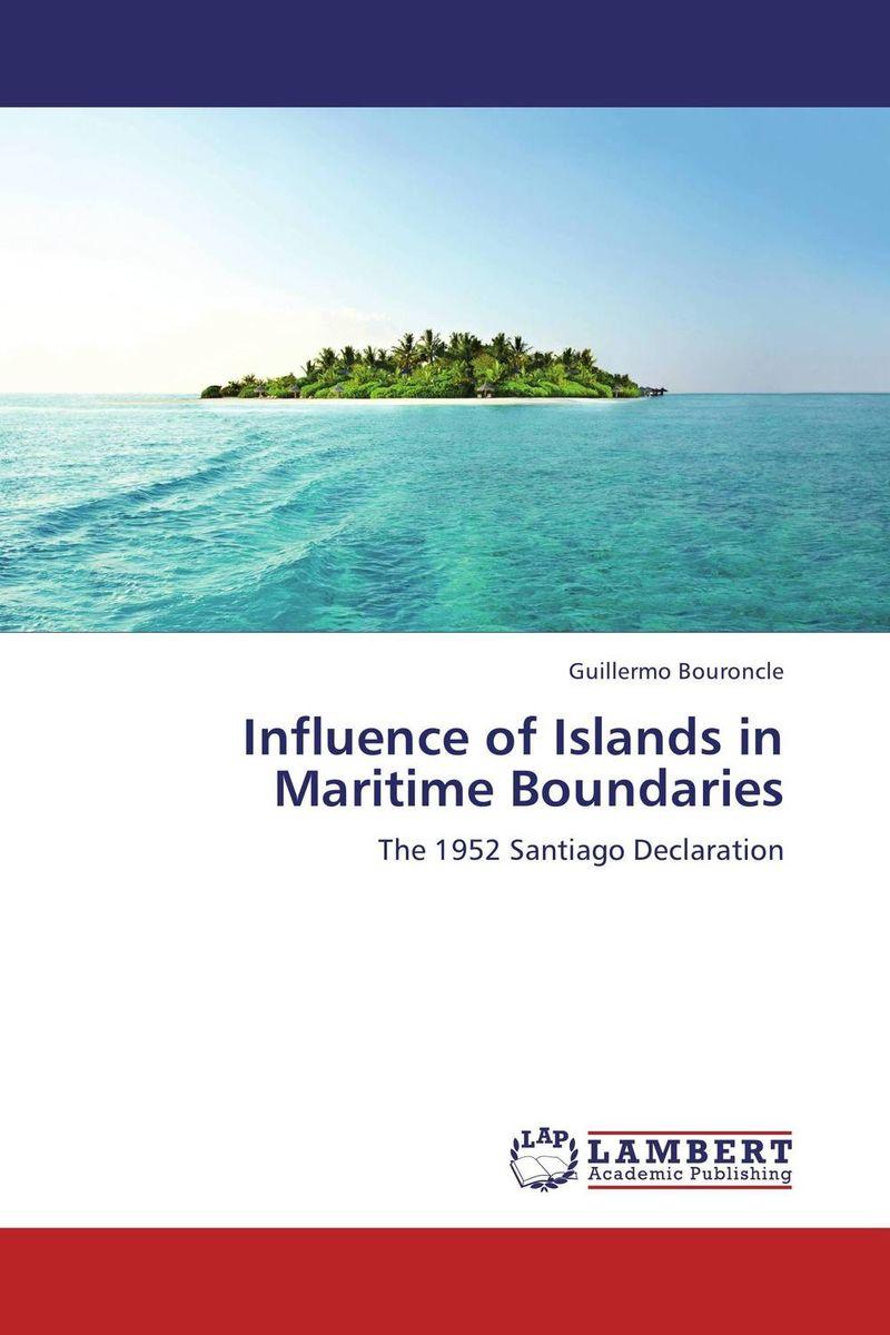Influence of Islands in Maritime Boundaries islands in the stream