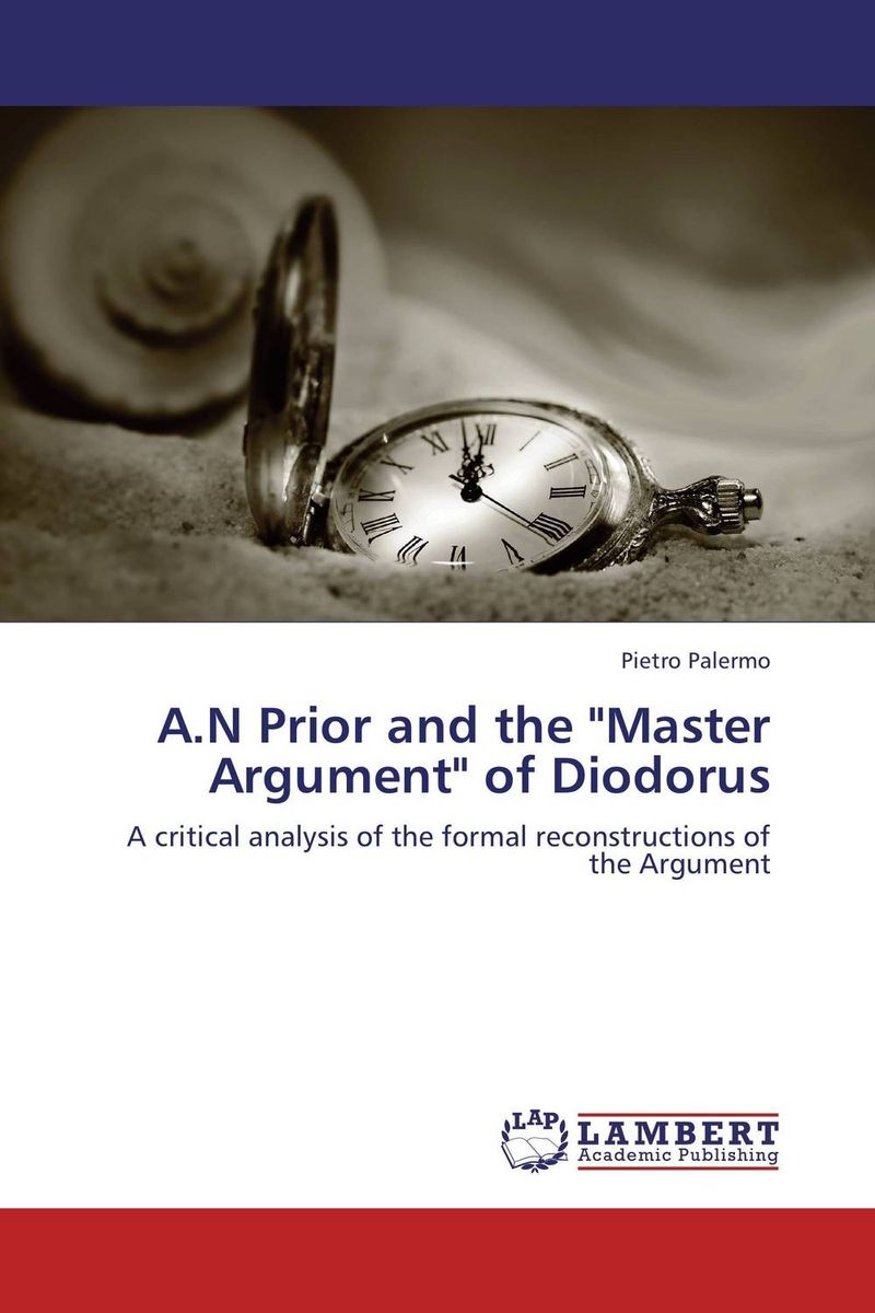 A.N Prior and the Master Argument of Diodorus crusade vol 3 the master of machines
