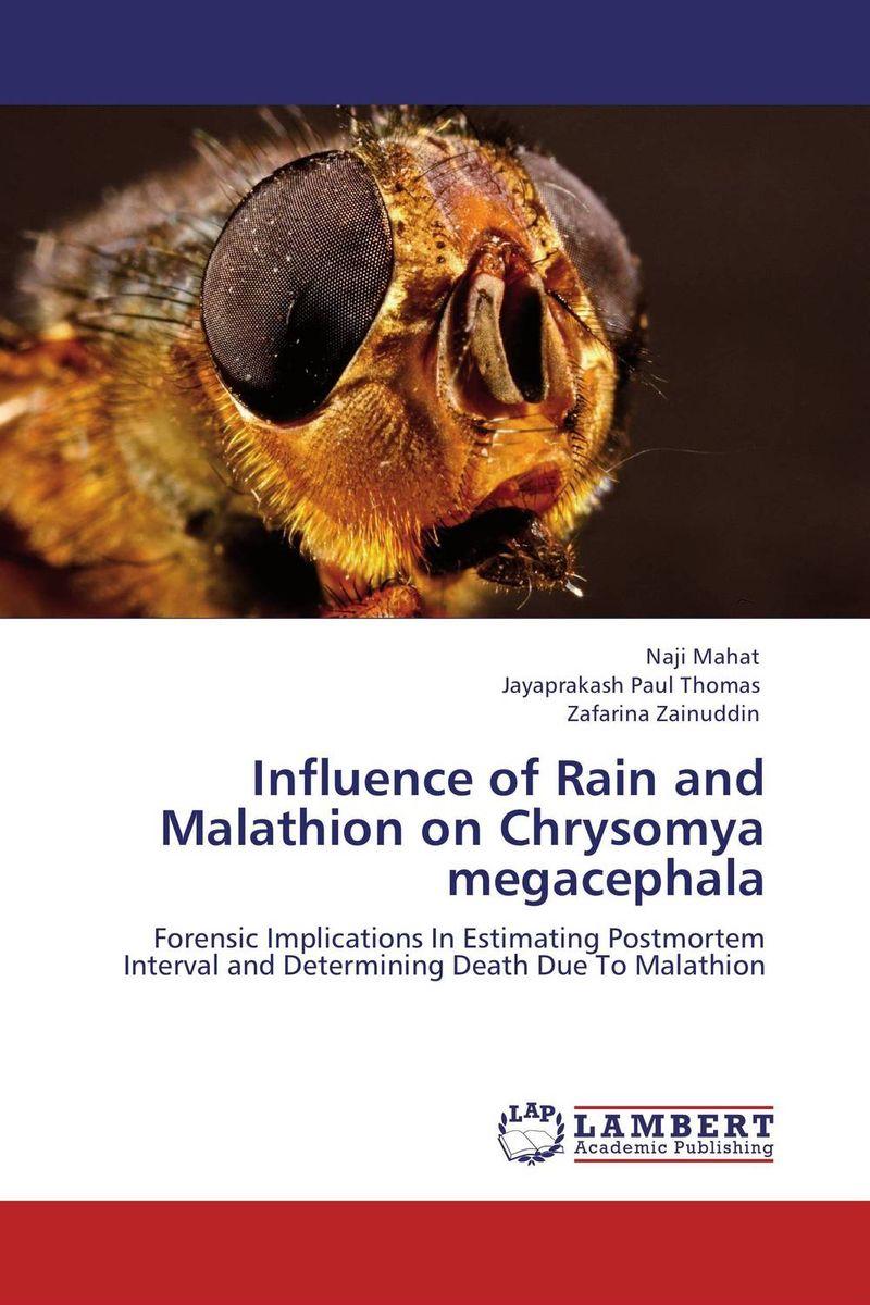Influence of Rain and Malathion on Chrysomya megacephala considering environmental war crime
