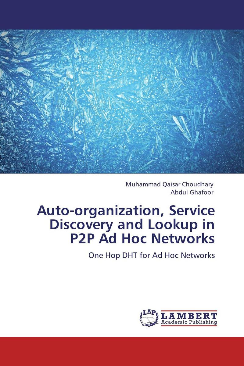 Auto-organization, Service Discovery and Lookup in P2P Ad Hoc Networks