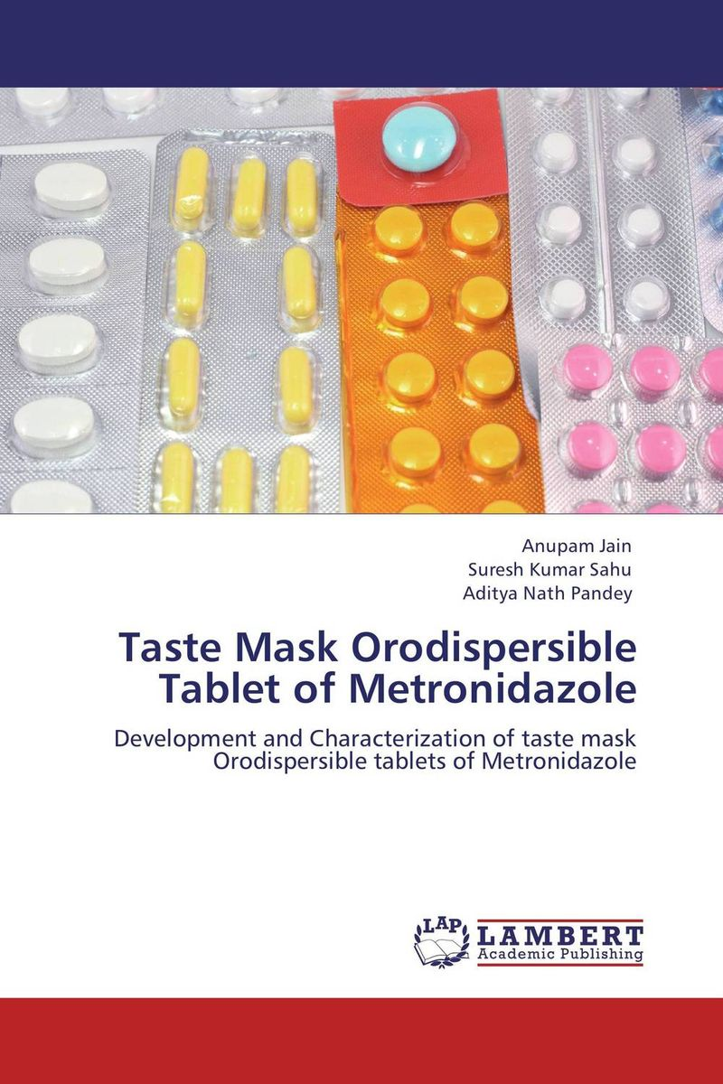Taste Mask Orodispersible Tablet of Metronidazole taste masked oral disintegrating tablet dosage form