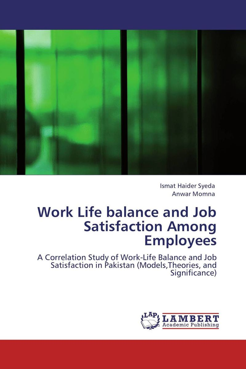 Work Life balance and Job Satisfaction Among Employees sadiq sagheer job stress role conflict work life balance impacts on sales personnel