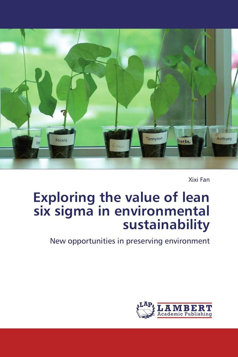 Exploring the value of lean six sigma in environmental sustainability eric lowitt the future of value how sustainability creates value through competitive differentiation