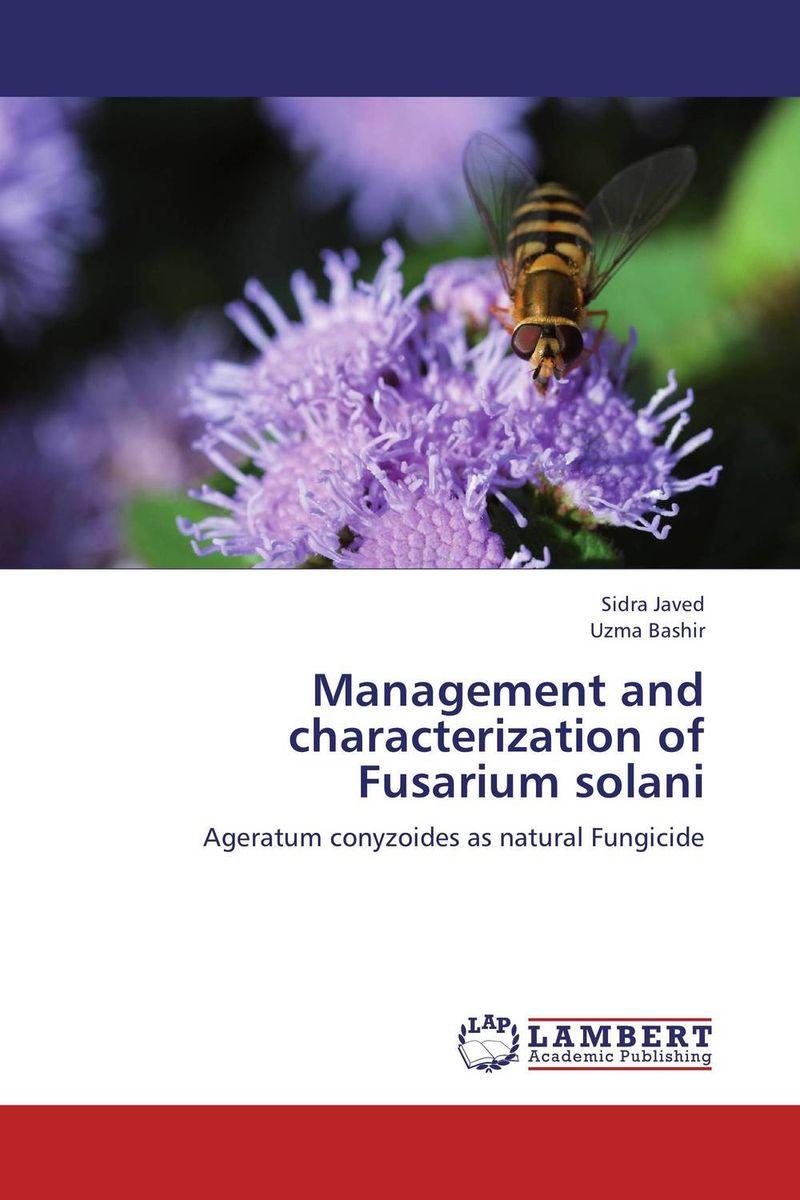 Management and characterization of Fusarium solani purnima sareen sundeep kumar and rakesh singh molecular and pathological characterization of slow rusting in wheat