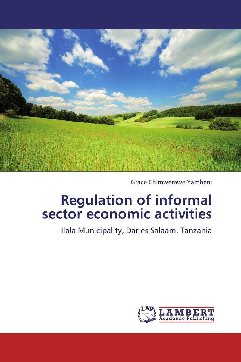 Regulation of informal sector economic activities integrating the informal sector in urban plans