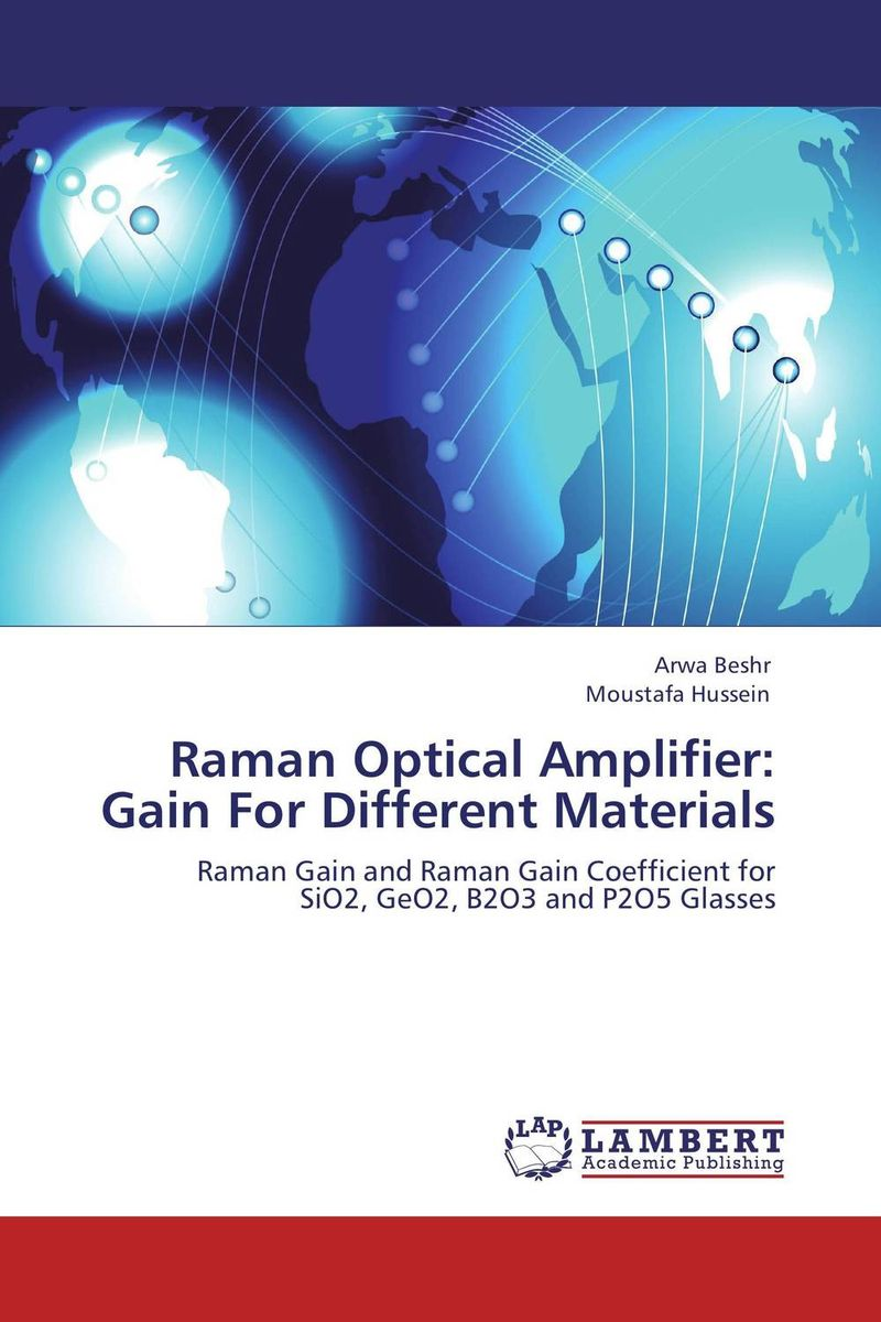Raman Optical Amplifier: Gain For Different Materials new and original e3x da11 s omron optical fiber amplifier photoelectric switch 12 24vdc