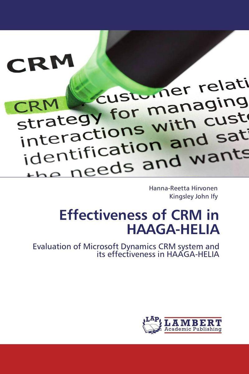 Effectiveness of CRM in HAAGA-HELIA
