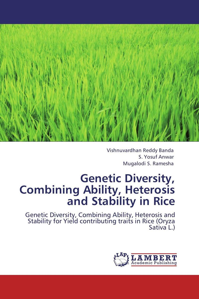 Genetic Diversity, Combining Ability, Heterosis and Stability in Rice evaluation of land suitability for rice production in amhara region