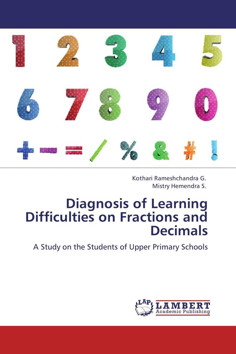 Diagnosis of Learning Difficulties on Fractions and Decimals portable infrared breast diagnosis