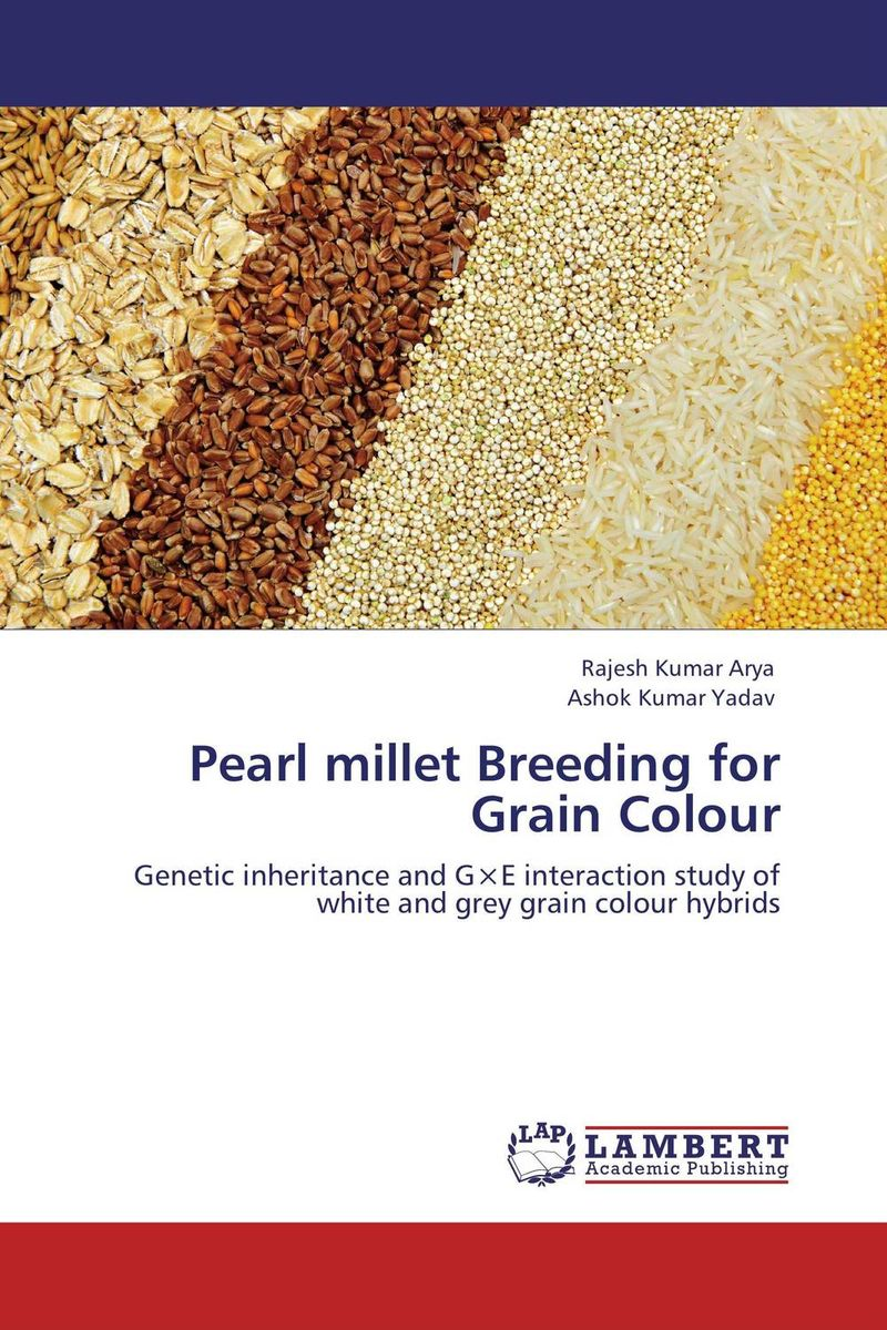 цены Pearl millet Breeding for Grain Colour