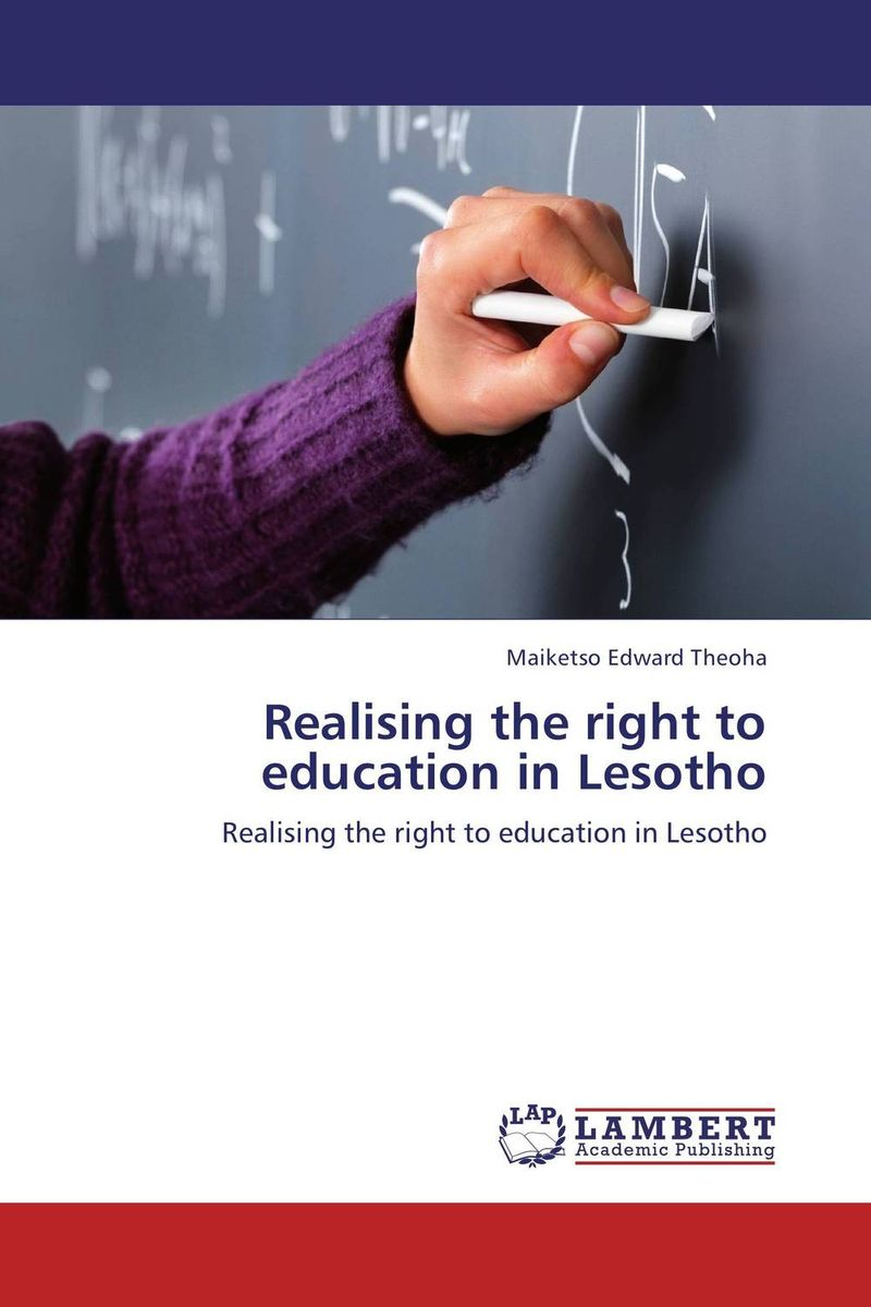 Realising the right to education in Lesotho