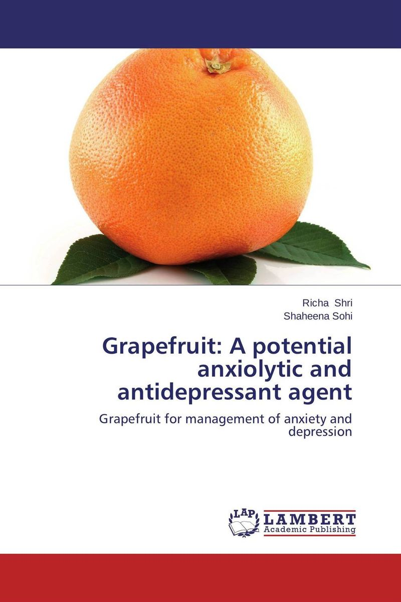 цены Grapefruit: A potential anxiolytic and antidepressant agent