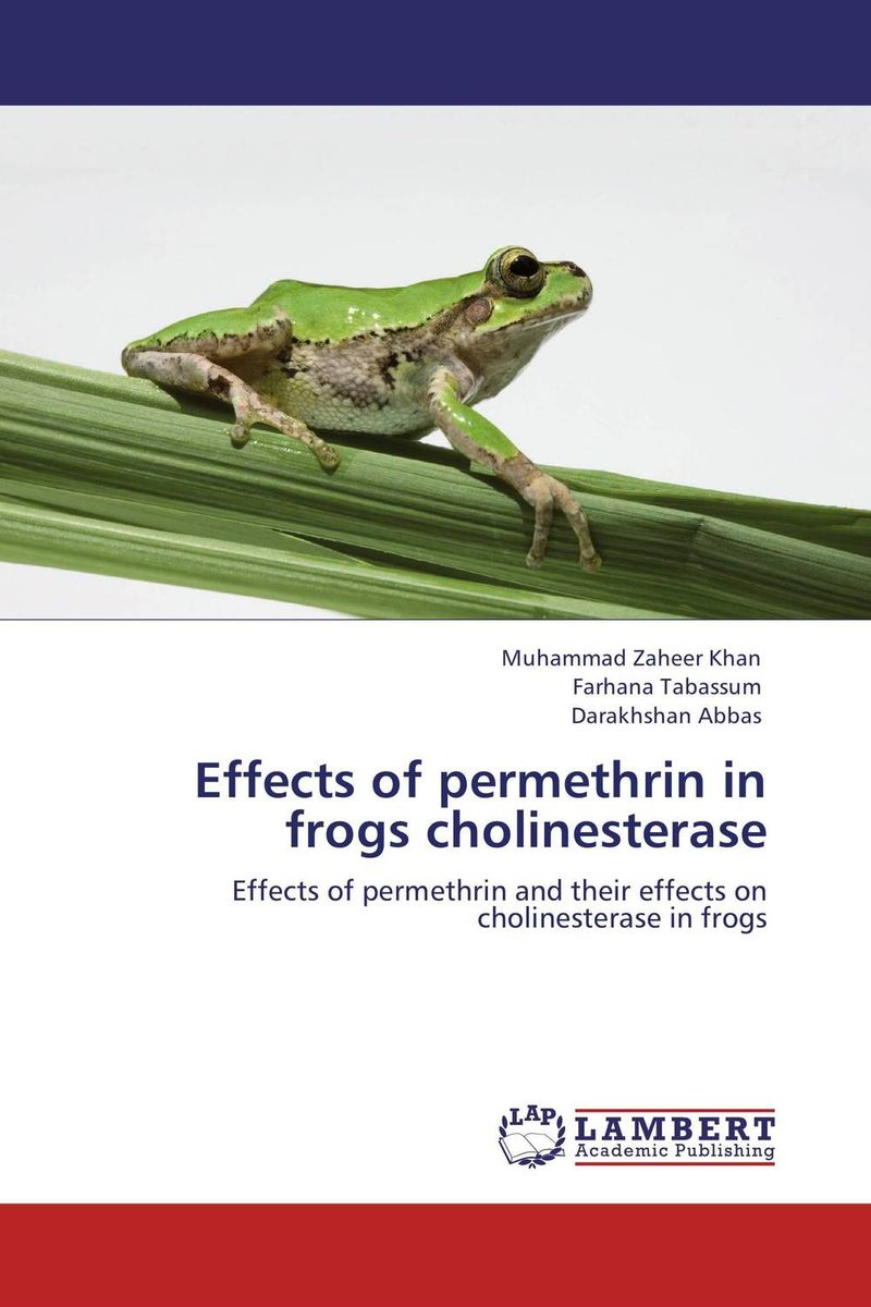 Effects of permethrin in frogs cholinesterase found in brooklyn