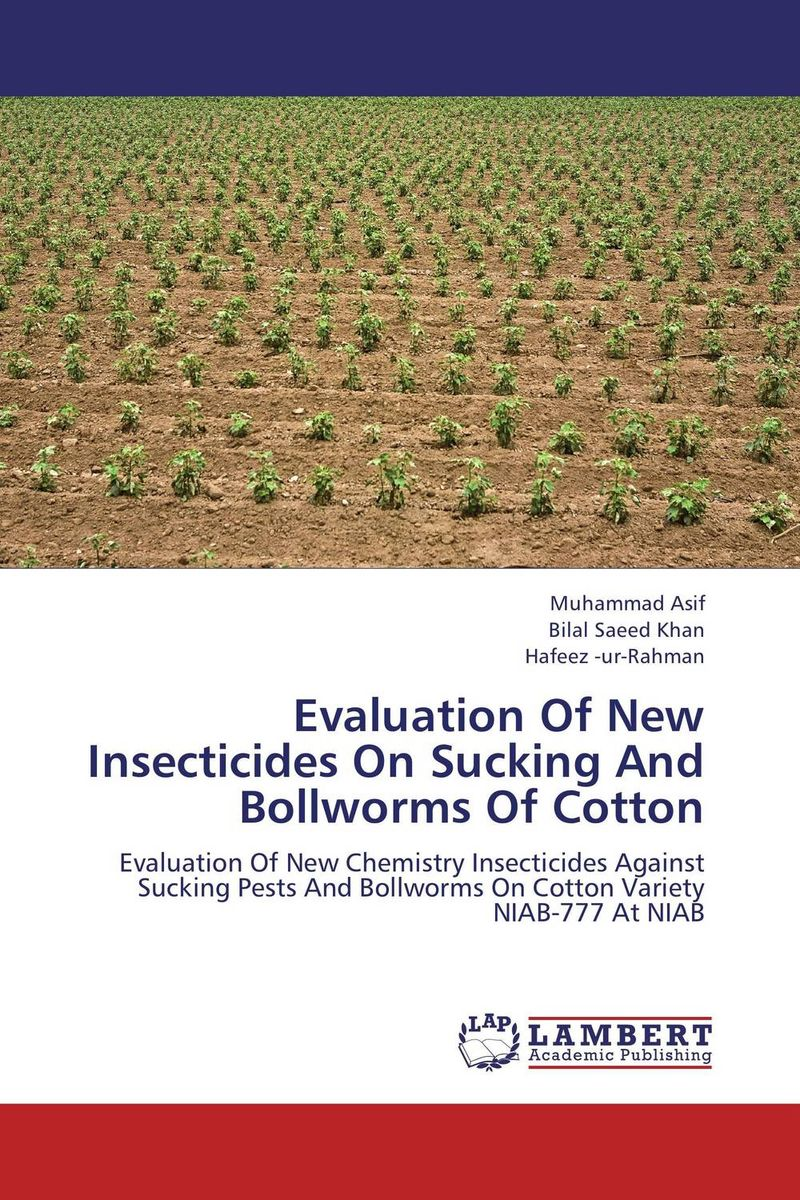 Evaluation Of New Insecticides On Sucking And Bollworms Of Cotton a new perspective on the evaluation of elt materials