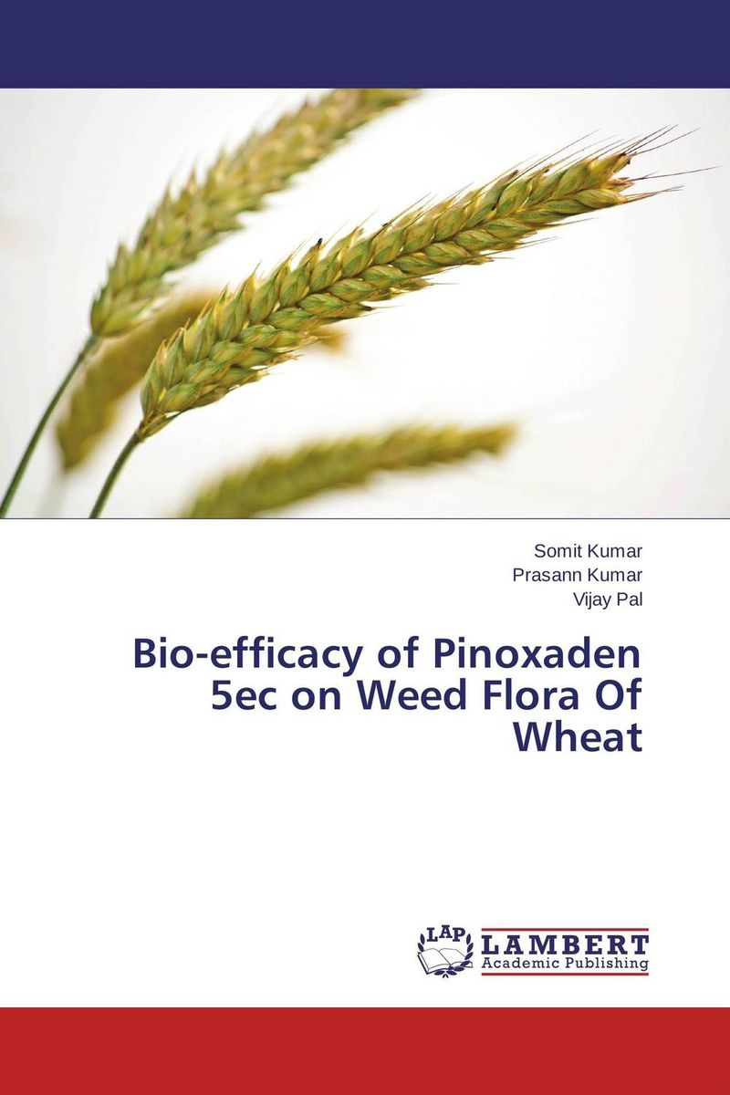 Bio-efficacy of Pinoxaden 5ec on Weed Flora Of Wheat natural enemy fauna in rice wheat system of india