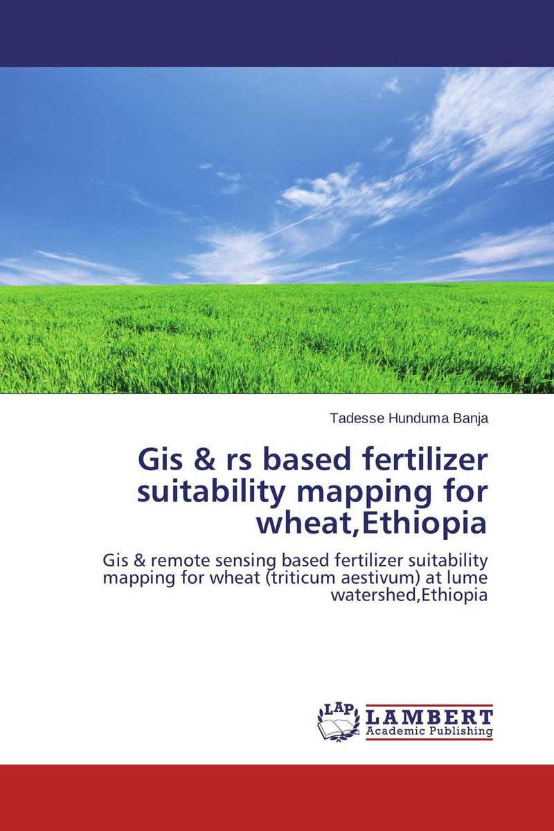 Gis & rs based fertilizer suitability mapping for wheat,Ethiopia application of gis in bathymetric mapping of gosainkunda lake