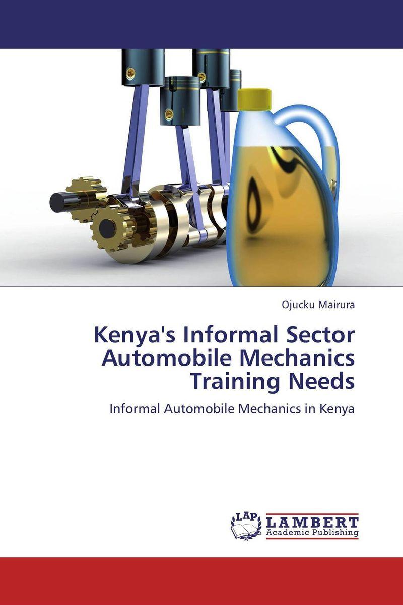 Kenya's Informal Sector Automobile Mechanics Training Needs automobile diagnosis equipment set for renault cars black