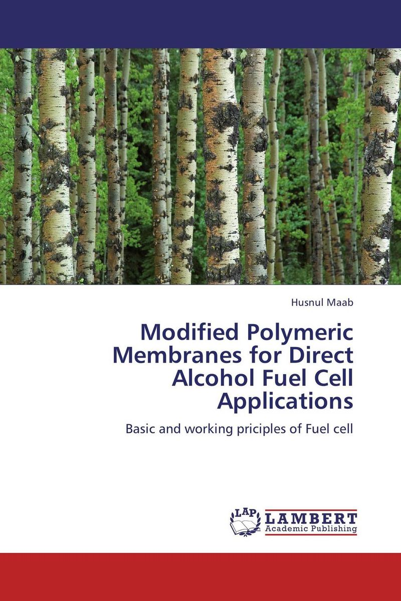 Modified Polymeric Membranes for Direct Alcohol Fuel Cell Applications недорго, оригинальная цена