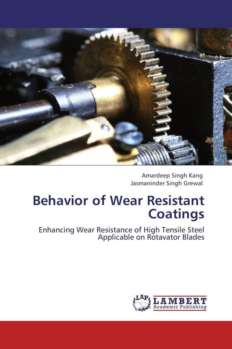 Behavior of Wear Resistant Coatings shivali singla jasmaninder singh grewal and amardeep singh kang wear behavior of hardfacings
