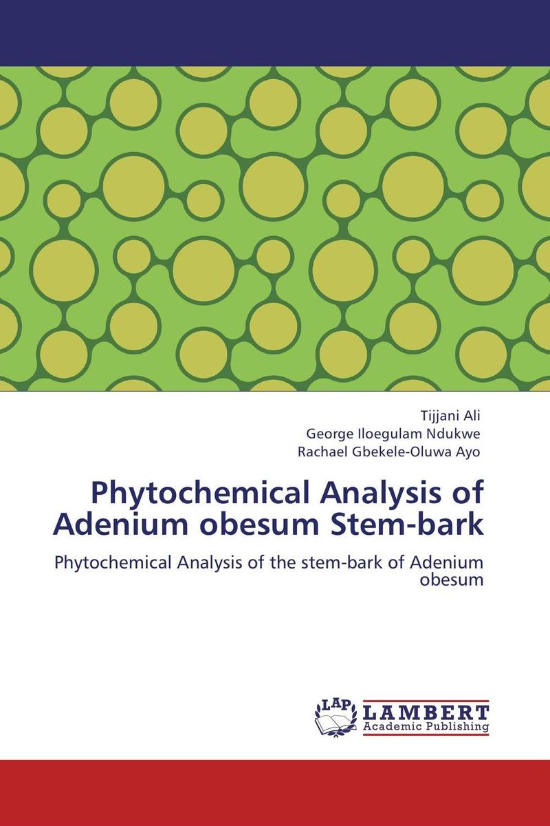 Phytochemical Analysis of Adenium obesum Stem-bark stem bromelain in silico analysis for stability and modification