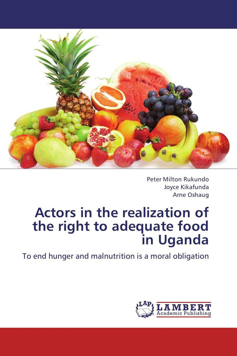 Actors in the realization of the right to adequate food in Uganda north and south