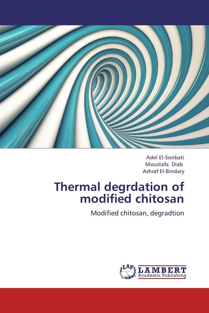 Thermal degrdation of modified chitosan adel el sonbati moustafa diab and ashraf el bindary thermal degrdation of modified chitosan