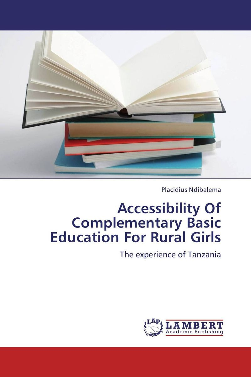 Accessibility Of Complementary Basic Education For Rural Girls a psycho educational programme