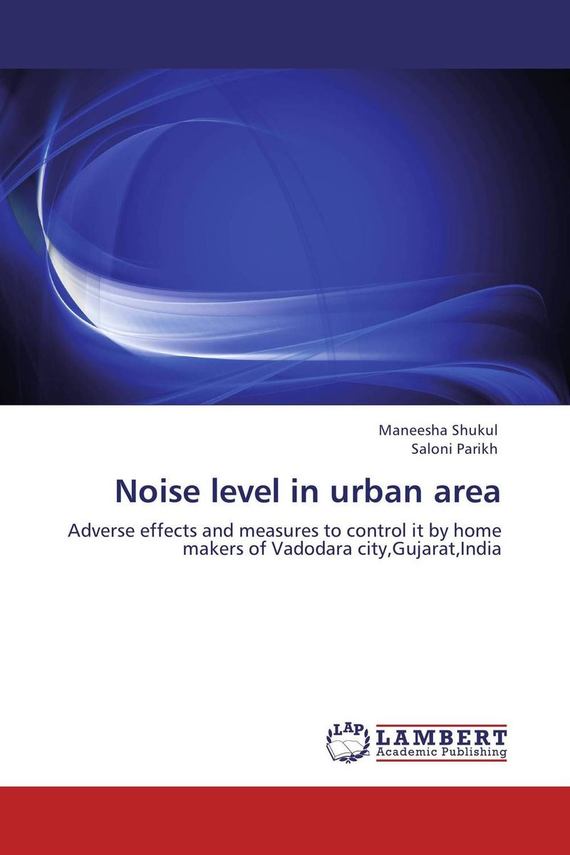 Noise level in urban area
