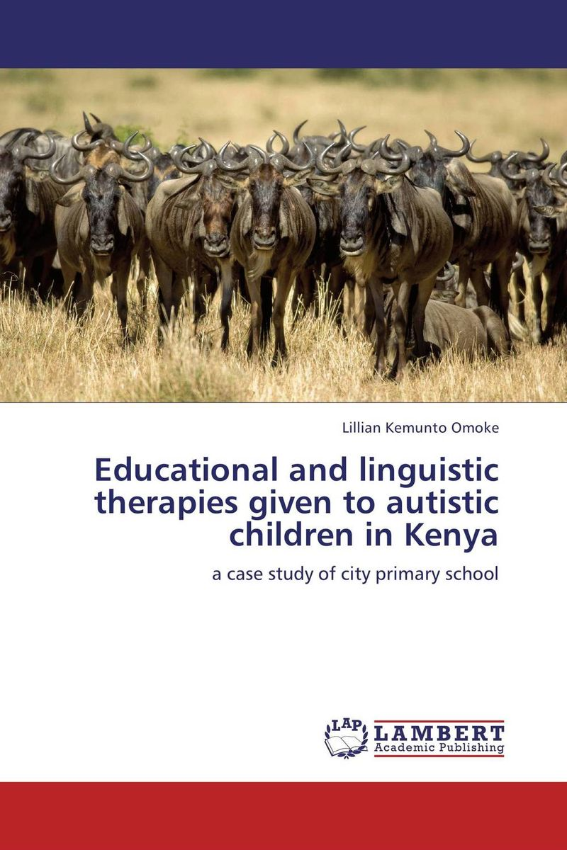 Educational and linguistic therapies given to autistic children in Kenya given to the sea