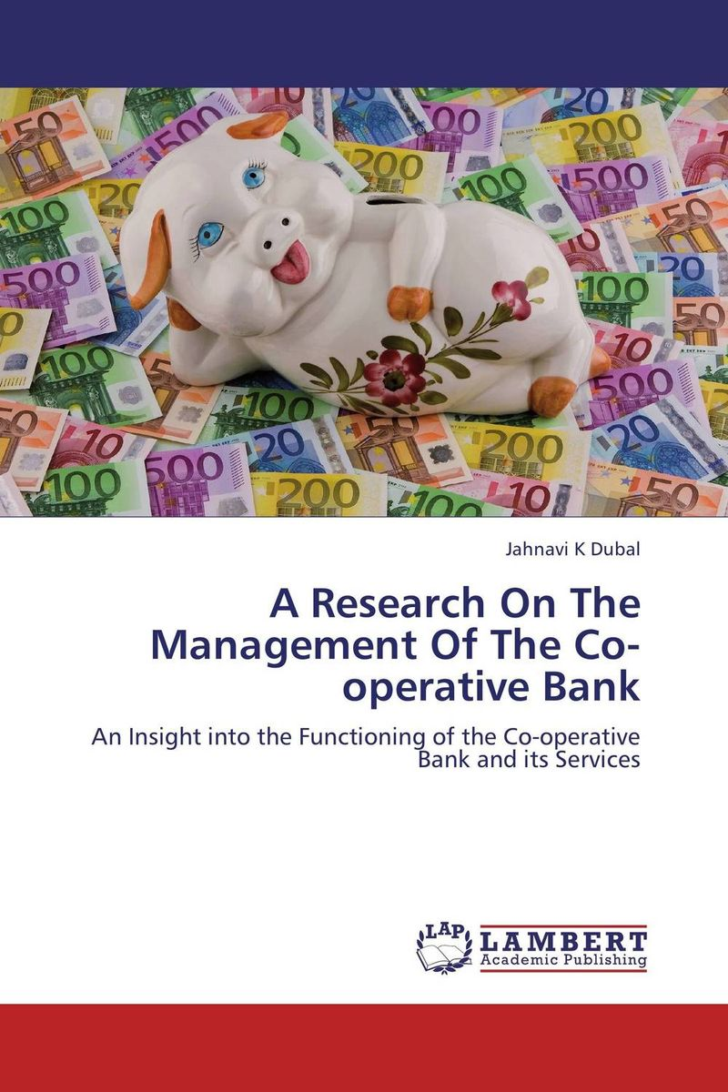 A Research On The Management Of The Co-operative Bank chethan kumar m r rajendra prasad s and radha b n identificaction and standerdization of molecular markers