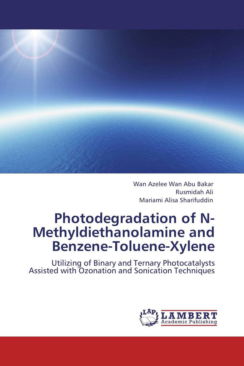 Photodegradation of N-Methyldiethanolamine and Benzene-Toluene-Xylene nify benny and c h sujatha enrichment of sulphur compounds in the cochin estuarine system