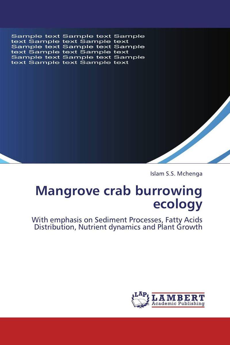 Mangrove crab burrowing ecology ecosystem ecology