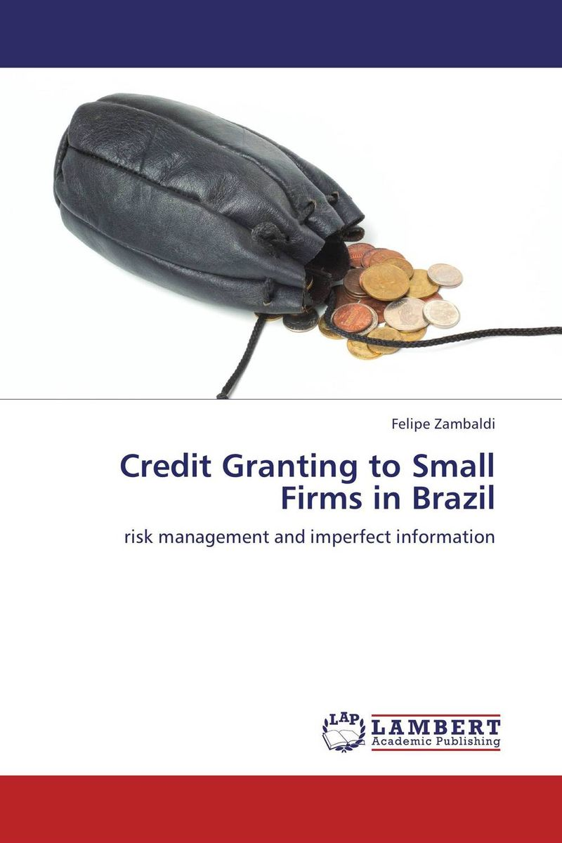 Credit Granting to Small Firms in Brazil jon gregory counterparty credit risk and credit value adjustment a continuing challenge for global financial markets